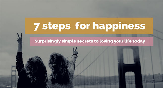 7 STEPS FOR HAPPINESS COURSE WEB 646x349
